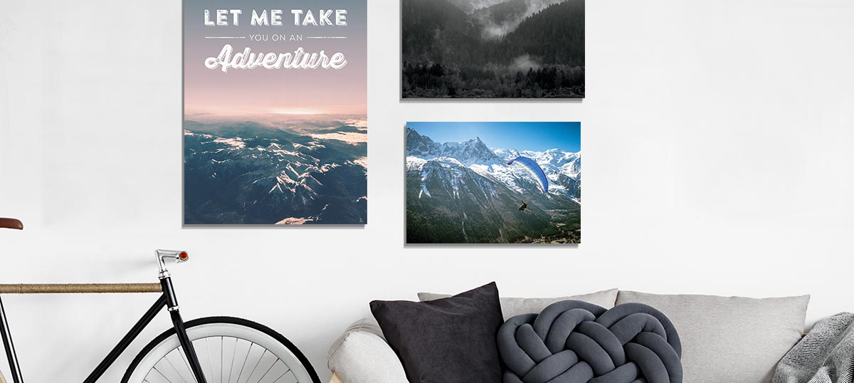 Outdoor Adventure Travel Canvas Art