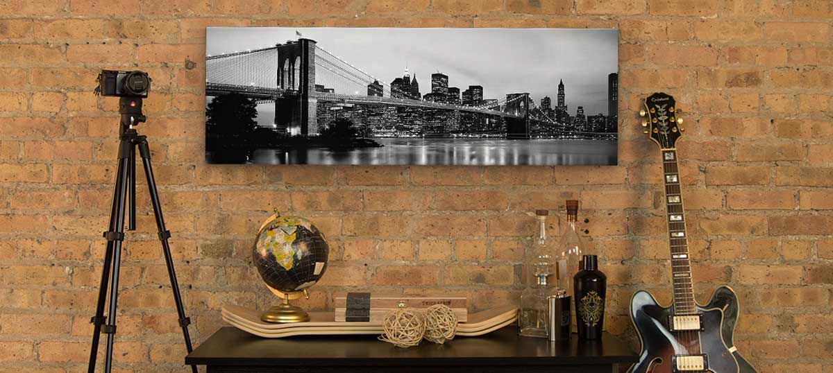 Panoramic Cityscapes Canvas Wall Art