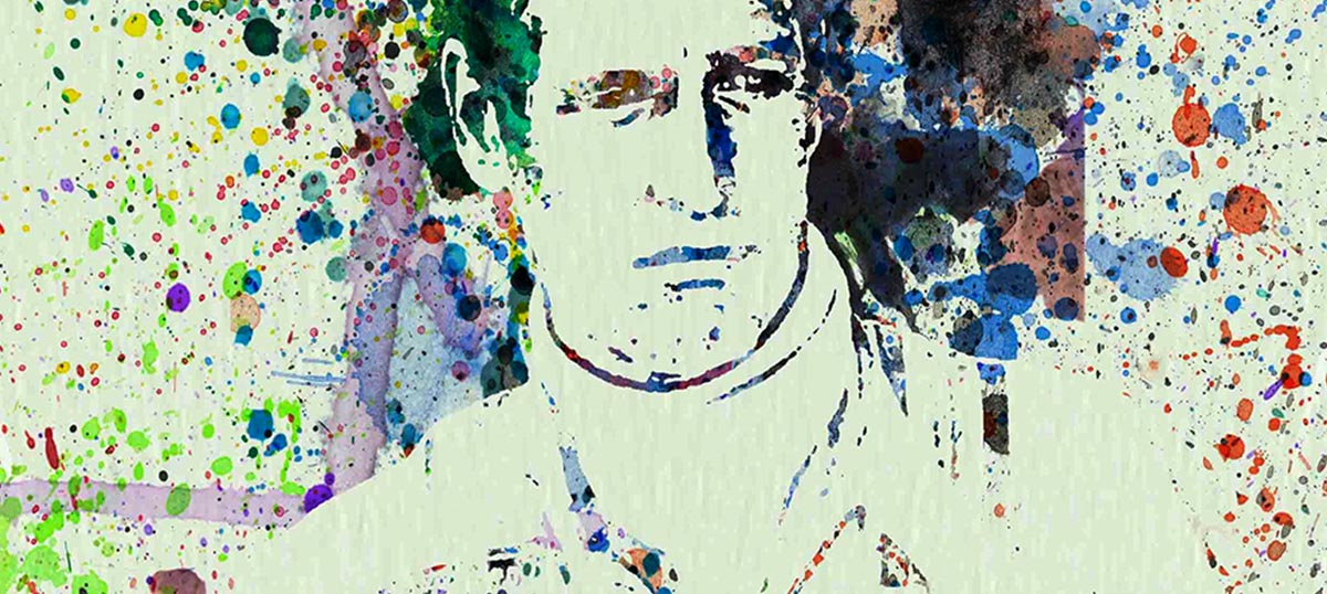 Paul Newman Canvas Artwork