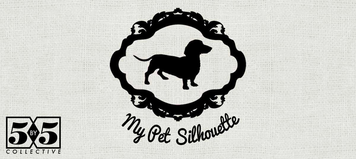My Pet Silhouette Canvas Art Prints