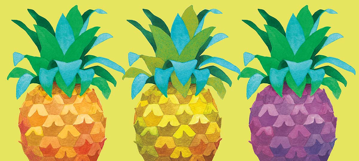 Pineapples Canvas Art