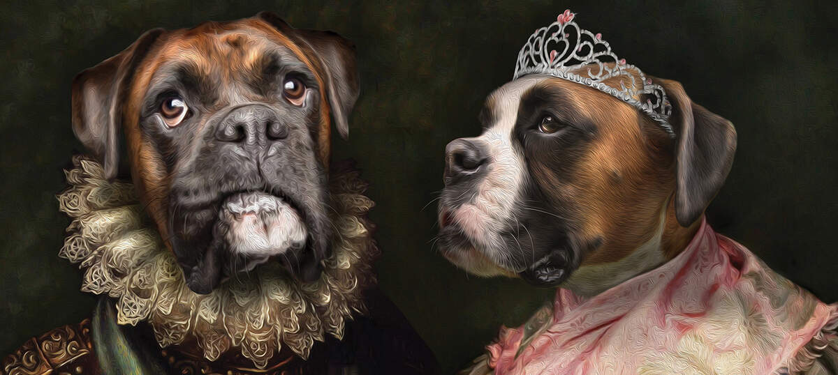 Pompous Pets Canvas Artwork