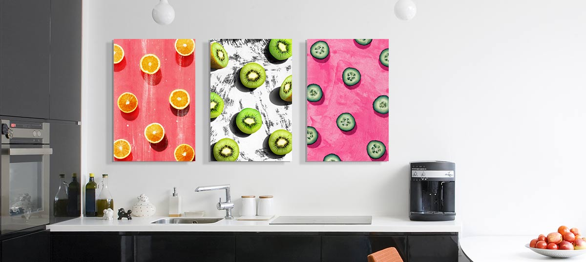 Pop Art Kitchen Canvas Artwork Icanvas