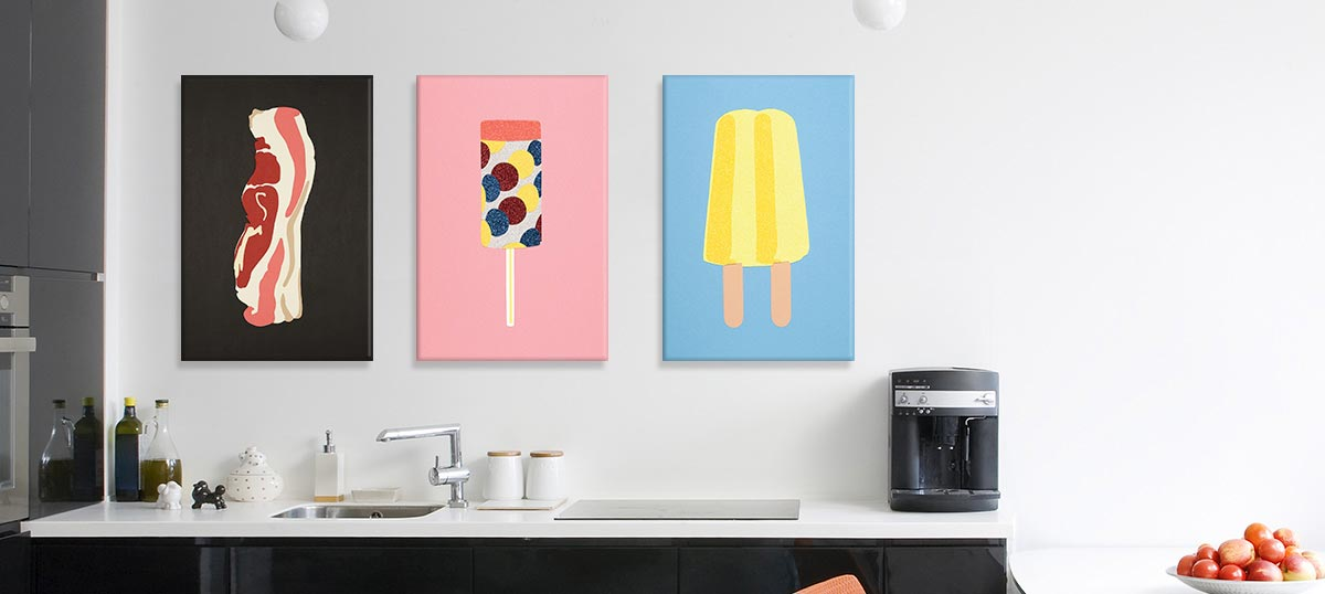 Pop Art Kitchen Art Prints Icanvas