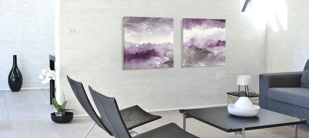 Purple Canvas Prints