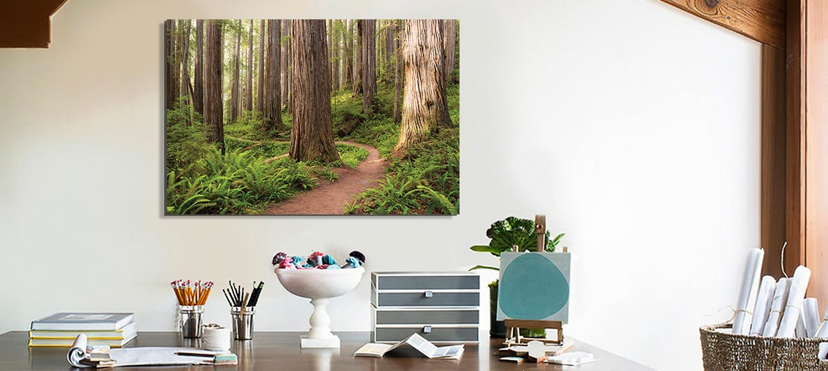 Refreshing Workspace Canvas Art