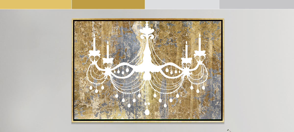 Gold and Silver Canvas Prints
