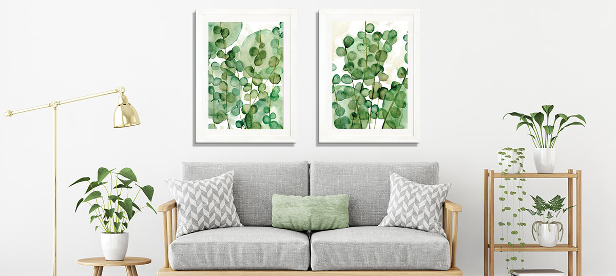 458486a2754c Green Color Art Prints