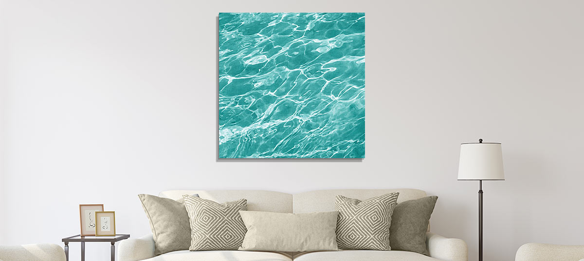 Turquoise Color Art Prints