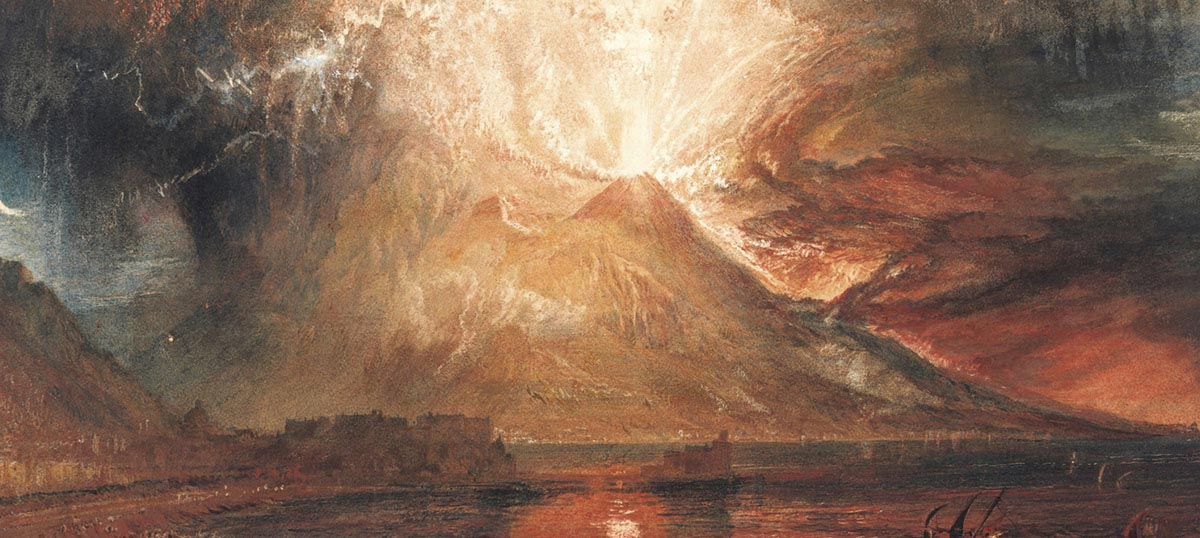 Volcanoes Canvas Artwork