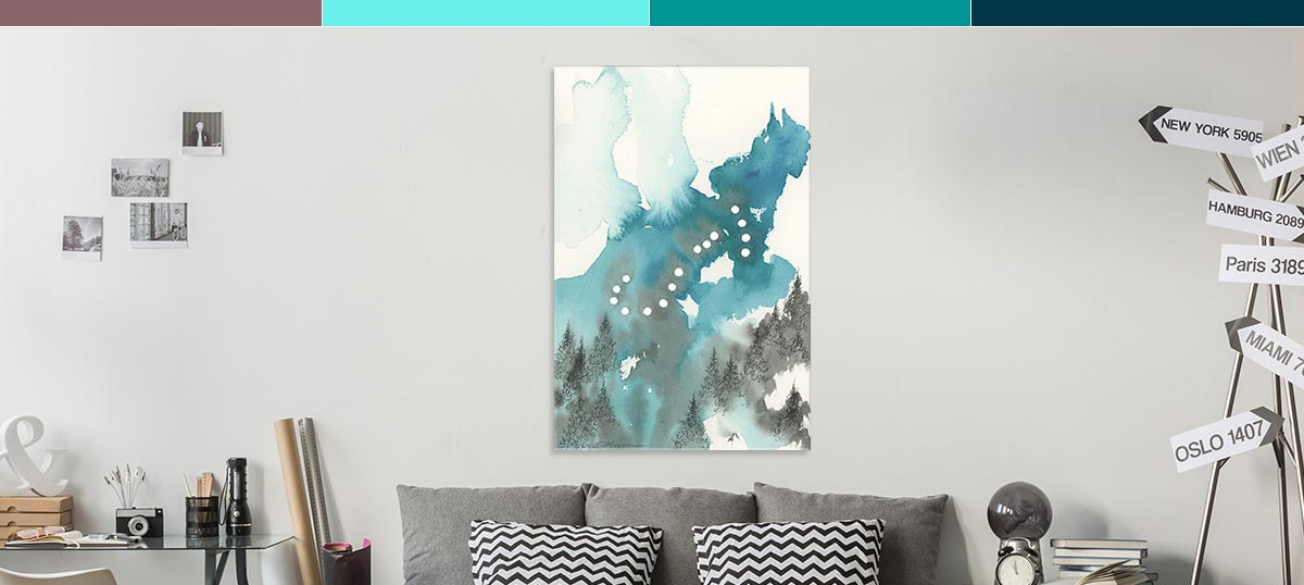 Scorpio Colors Canvas Prints