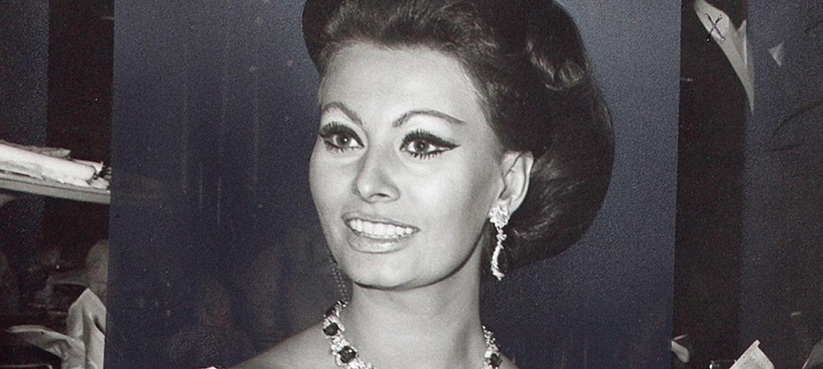 Sophia Loren Canvas Wall Art