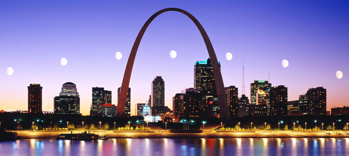 St. Louis Canvas Prints
