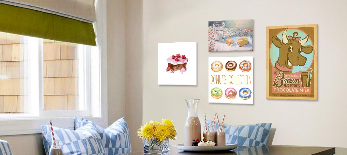 Sweet Treats Canvas Artwork