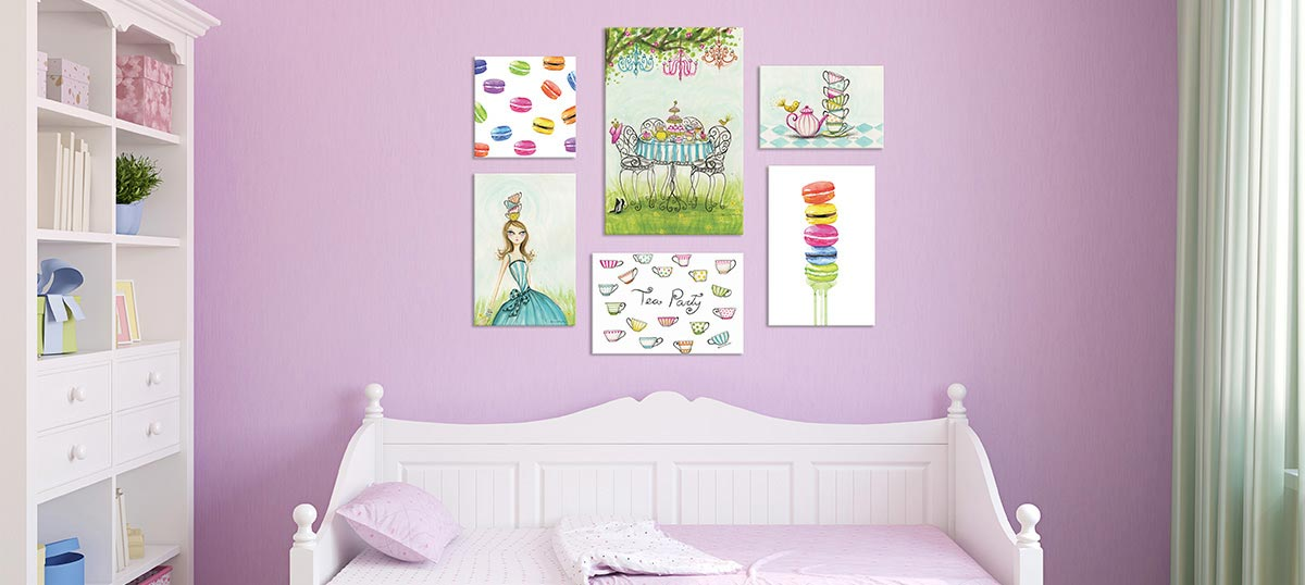 Tea Party Canvas Art Prints