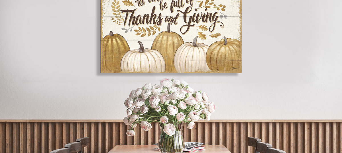 Thanksgiving Canvas Art Prints
