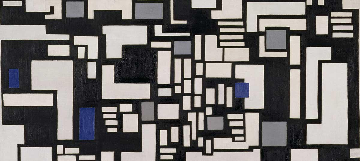 Theo Van Doesburg Canvas Artwork