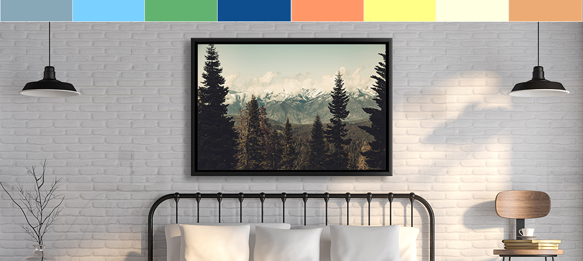 Trekking Canvas Wall Art