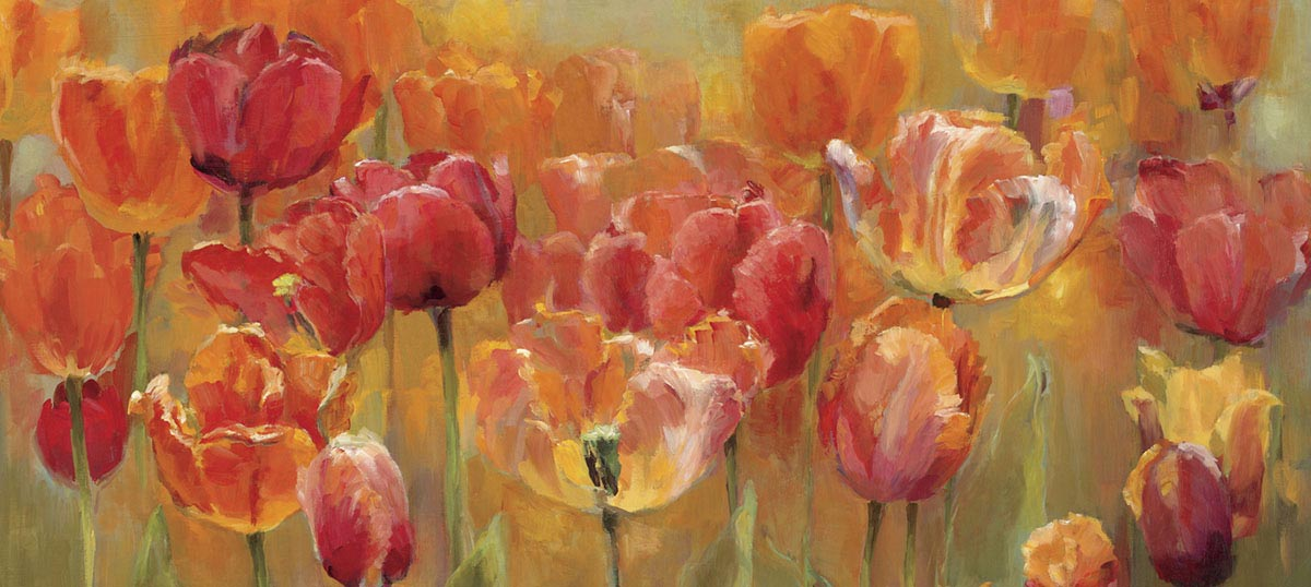 Tulips Canvas Art