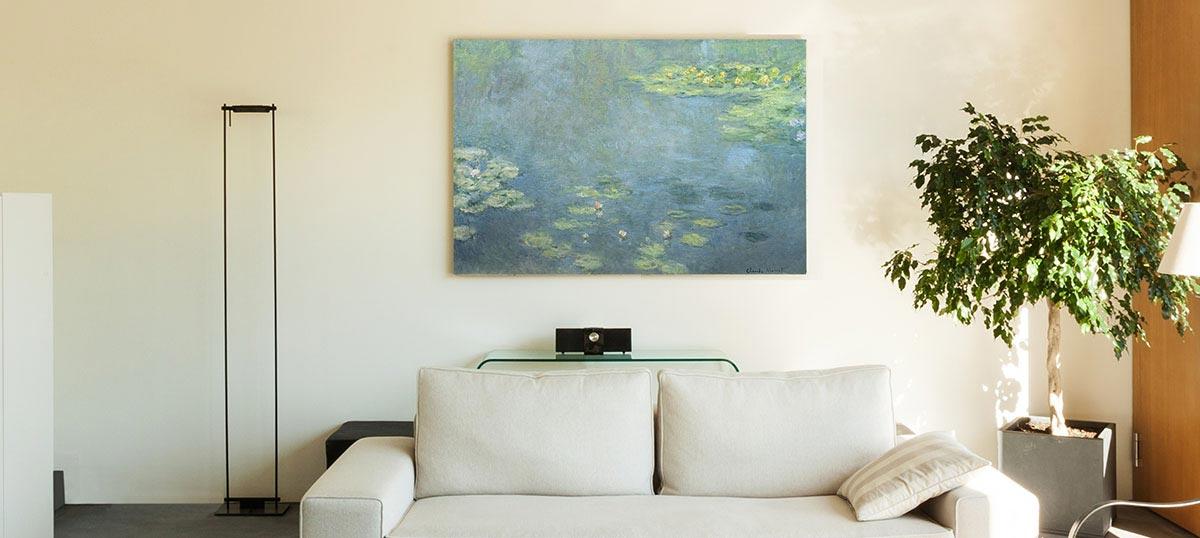Turquoise canvas prints