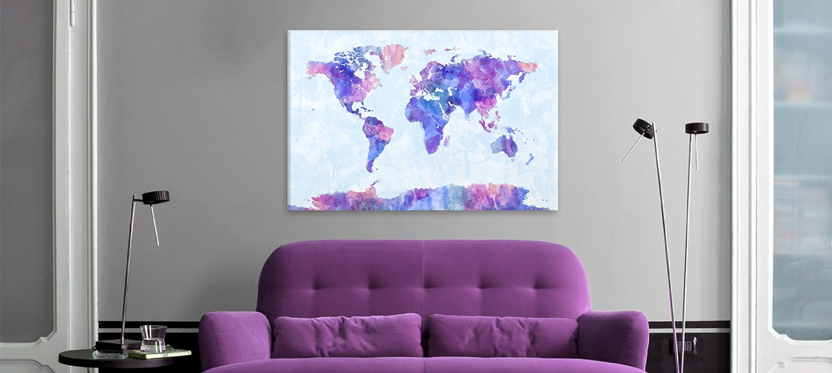 Violet Canvas Prints
