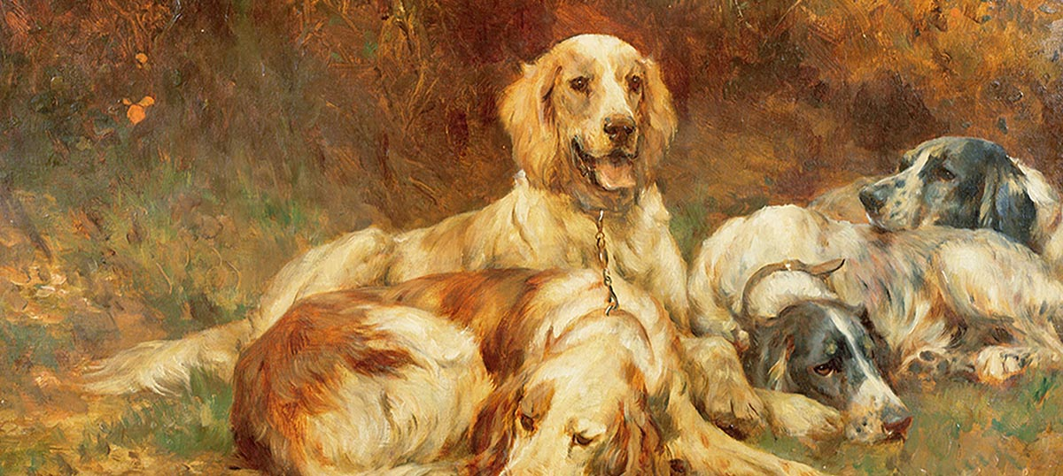 Welsh Springer Spaniels Canvas Wall Art