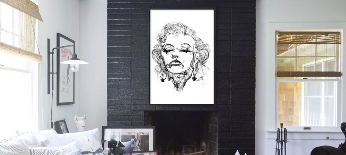 White Canvas Wall Art