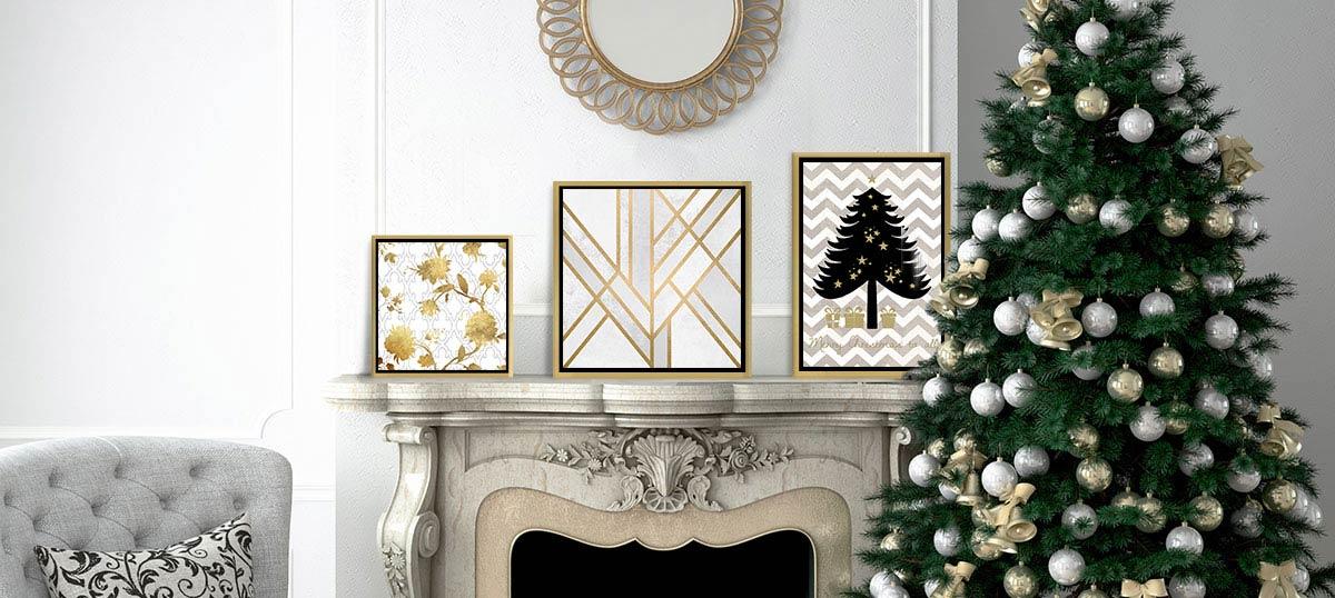 White Gold Canvas Art Prints Icanvas