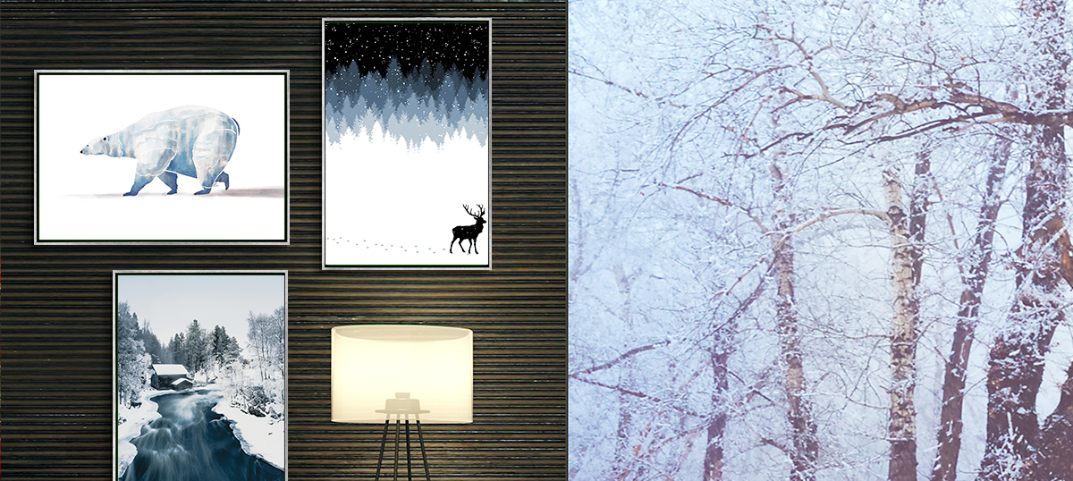 Winter Wonderland Art Prints