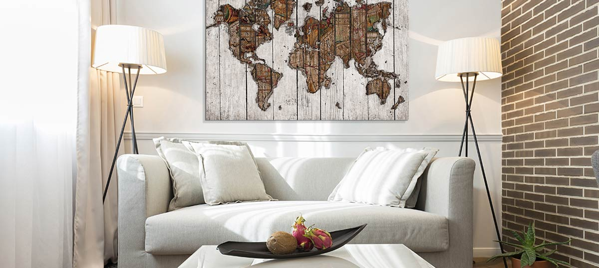 Wood Walls Canvas Art Prints