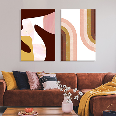 Adobe Abstracts Canvas Artwork