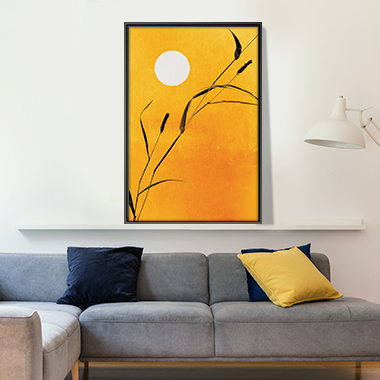 Mellow Yellow Canvas Prints