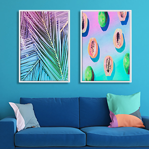 Tropics to the Max Canvas Artwork