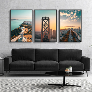 View from the Top Canvas Art