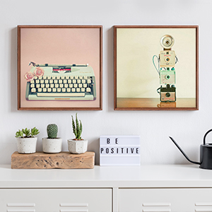 Vintage Styled Photography Canvas Wall Art