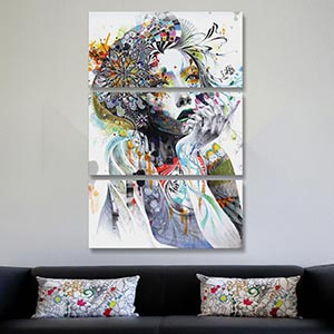 Permalink to Canvas Wall Art Sets Of 3