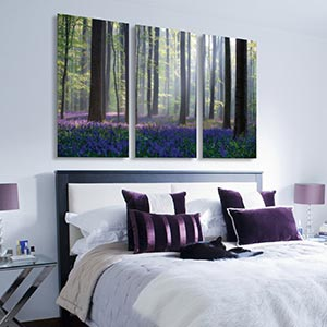 ... 3 Piece Trees Canvas Wall Art