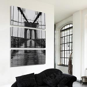 3-Piece Urban Art Prints