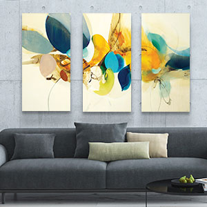 3-Piece Abstract Canvas Artwork