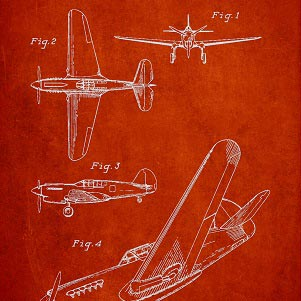 Aviation Canvas Wall Art