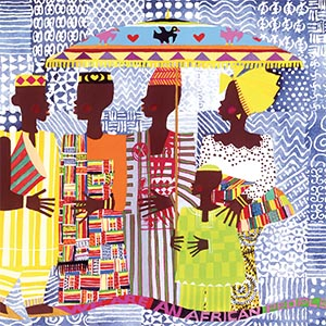 African Décor Canvas Art Prints