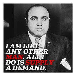 Al Capone Canvas Art