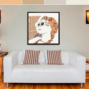 Alabaster Neutrals Canvas Wall Art