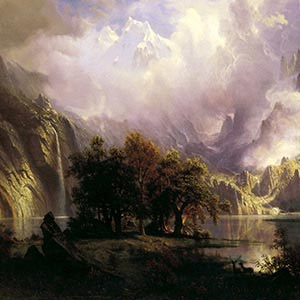 Albert Bierstadt Canvas Artwork