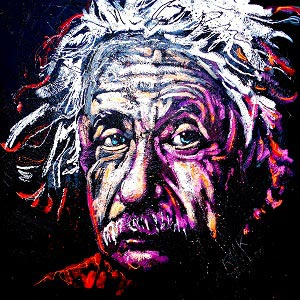 Albert Einstein Canvas Art Prints