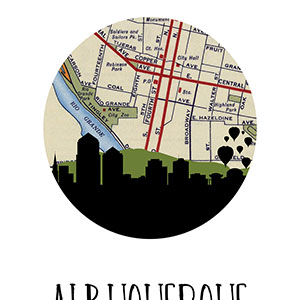 Albuquerque Canvas Art Prints