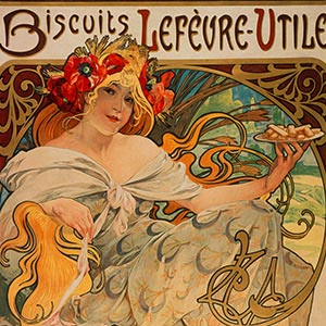 Alphonse Mucha Canvas Artwork