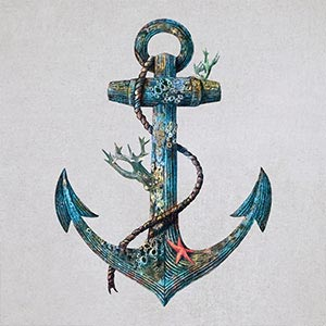 Anchors Canvas Wall Art