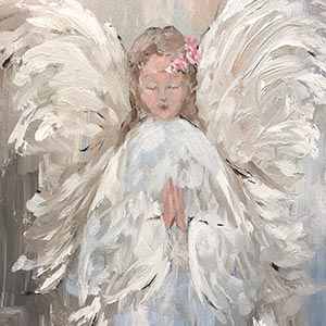 Angels Canvas Art