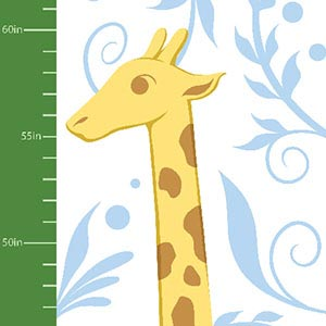 Animal Friends Growth Charts Art Prints